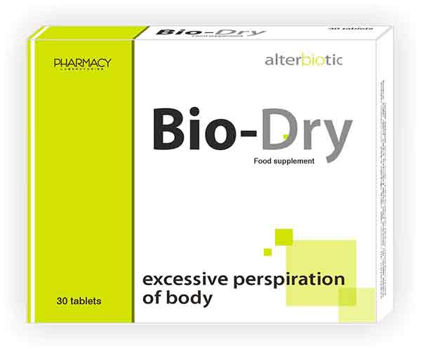 BIO-DRY – Revolutionary novelty against excessive sweating